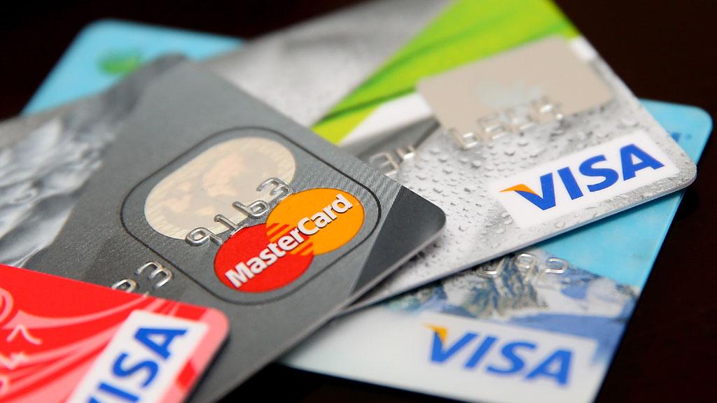 Пополнение счета банковскими картами
